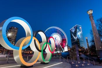 olympic rings atlanta